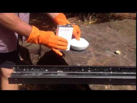 How to restore faded aluminium