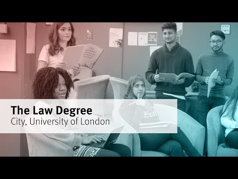 The Law degree at City, University of London