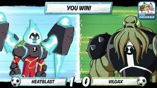 Süper Futbol Vilgax (Cartoon Network Oyunlar)Karşı Ateş Ben 10: Ceza Güç -