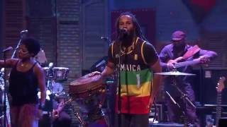"Ziggy Marley performs ""Fly Rasta"" live at the House of Blues in New..."