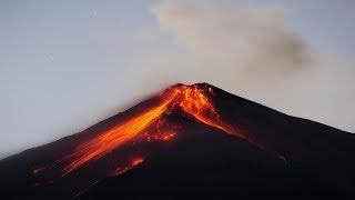 alarma en guatemala violenta erupción del volcán de fuego