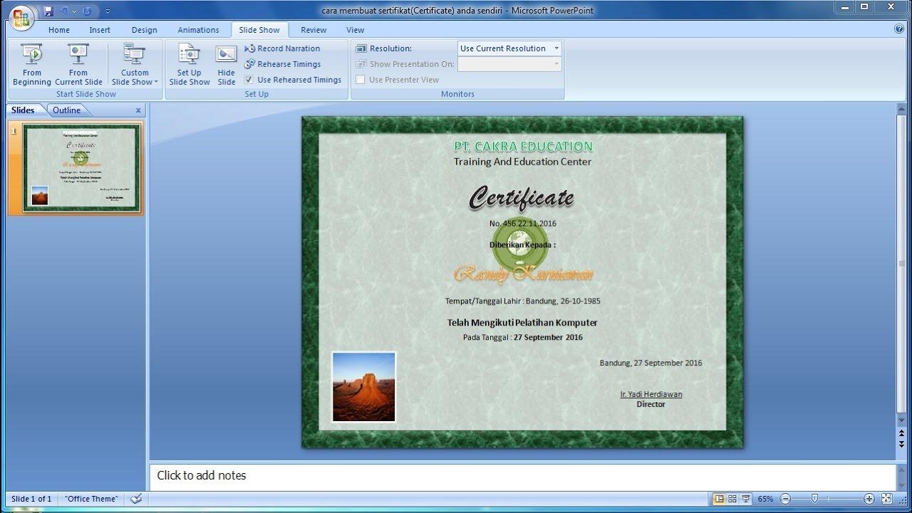 tutorial powerpoint 2007