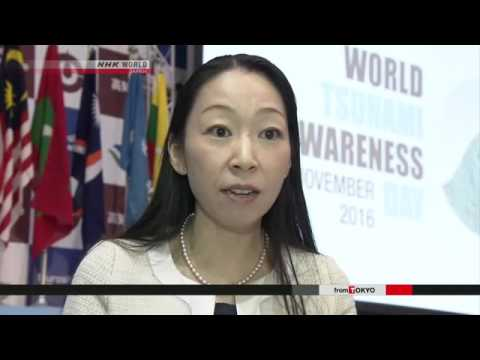 Students from 30 countries discuss tsunami risk