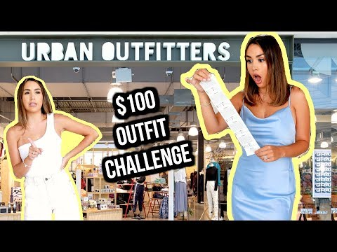 $100 OUTFIT CHALLENGE! URBAN OUTFITTERS   ALEXANDREA GARZA