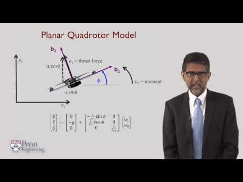 4 4   Quadrotor Equations of Motion   University of Pennsylvania   Coursera