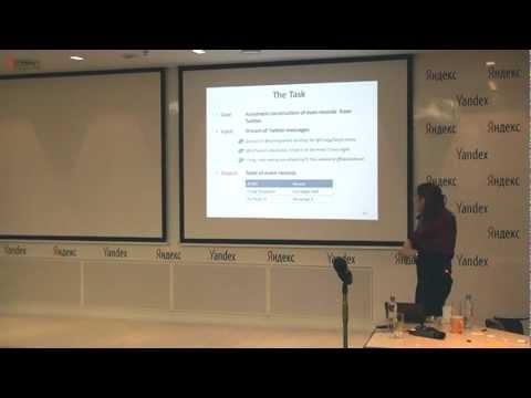 Regina Barzilay — Information Extraction for Social Media - YouTube