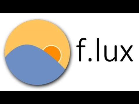 Как сохранить зрение при работе на компьютере  Полезная программа flux