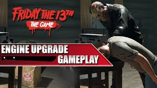 Engine Upgrade Gameplay | Status of the Next Update! | Friday the 13th: The Game
