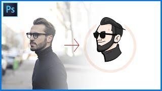 [포토샵 강좌] 펜툴만으로 캐릭터, 이모티콘 만들기 쉬움주의 // Photoshop Tutorials