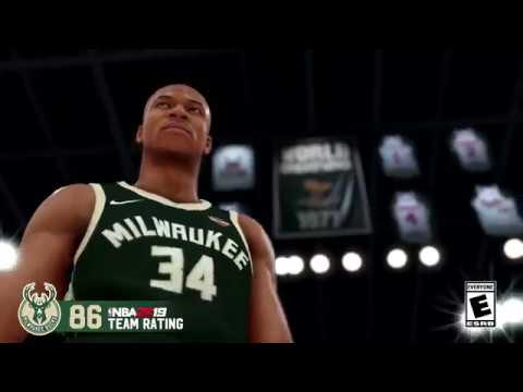 NBA 2K19 - Bucks Team Rating