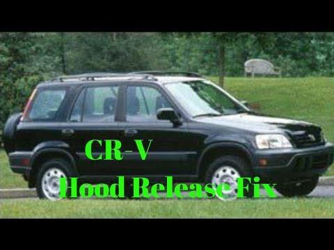 Honda CR-V hood release fix