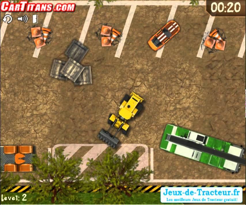 Jeu de parking garer tracteur gratuit youtube - Jeux de tracteur agricole gratuit ...