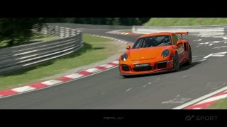 Gran Turismo Sport - Porsche 911 GT3 RS Extended Preview Gameplay