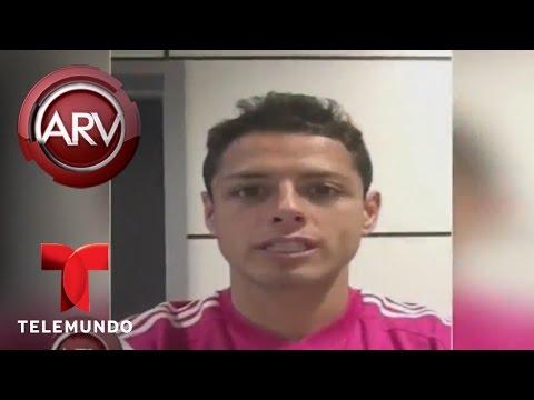 Chicharito Hernández desea suerte a Cuauhtémoc Blanco | Al Rojo Vivo | Telemundo