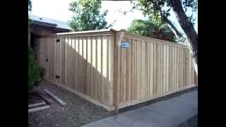Oak Tree Fence / Custom Board On Board