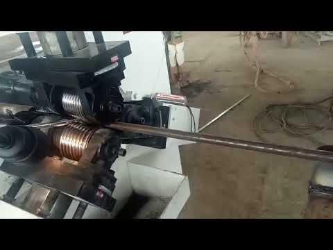 Round Die Thread Rolling Machine