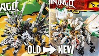 LEGO Ninjago 2019 Legacy Sets - OLD vs NEW!
