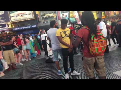 FATHER DUFFY SQUARE PHONE BOOTH AND SOME VIDEO SHOOT 👀 LOOKING