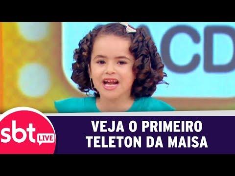 SBT Live Com Teleton+ - Veja O Primeiro Teleton De Maisa Silva | (09/10/17)