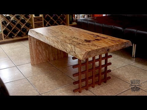 Live Edge Table From Dimensional Lumber-