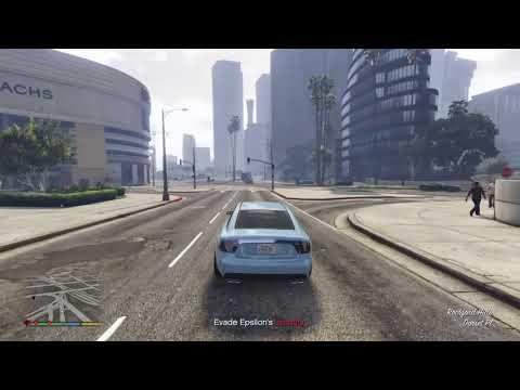 Grand Theft Auto V PS4 Robbing the Epsilon Program