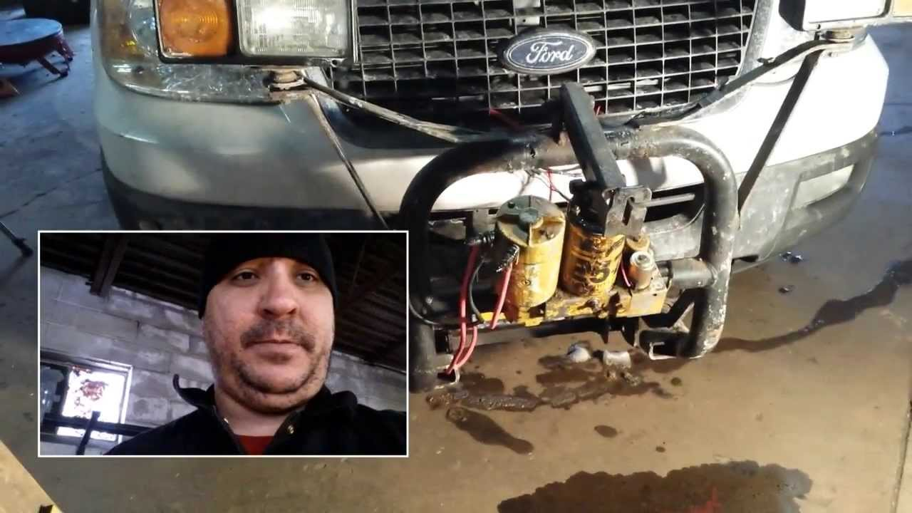 meyer plow pump rj45 to rj11 converter wiring diagram snow trouble shooting e 57 youtube premium