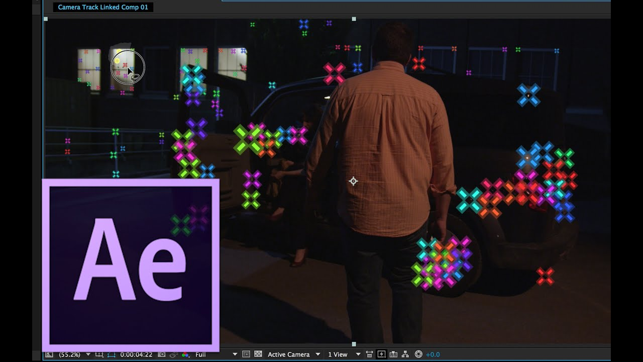 After effects cc 2014 tutorial 3d camera tracking and for Habitacion 3d after effects