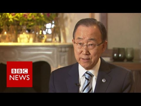 Ban ki-Moon: London 'Syria' conference must be 'totally different' - BBC News