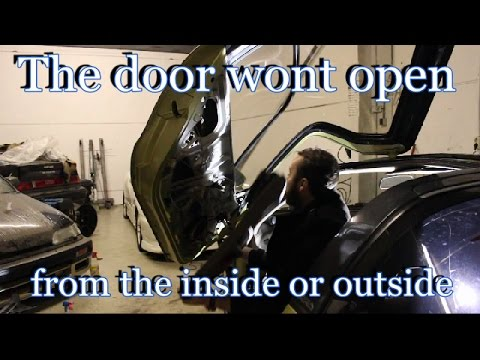 How To Fix A Car Door Mechanism That Wont Open From