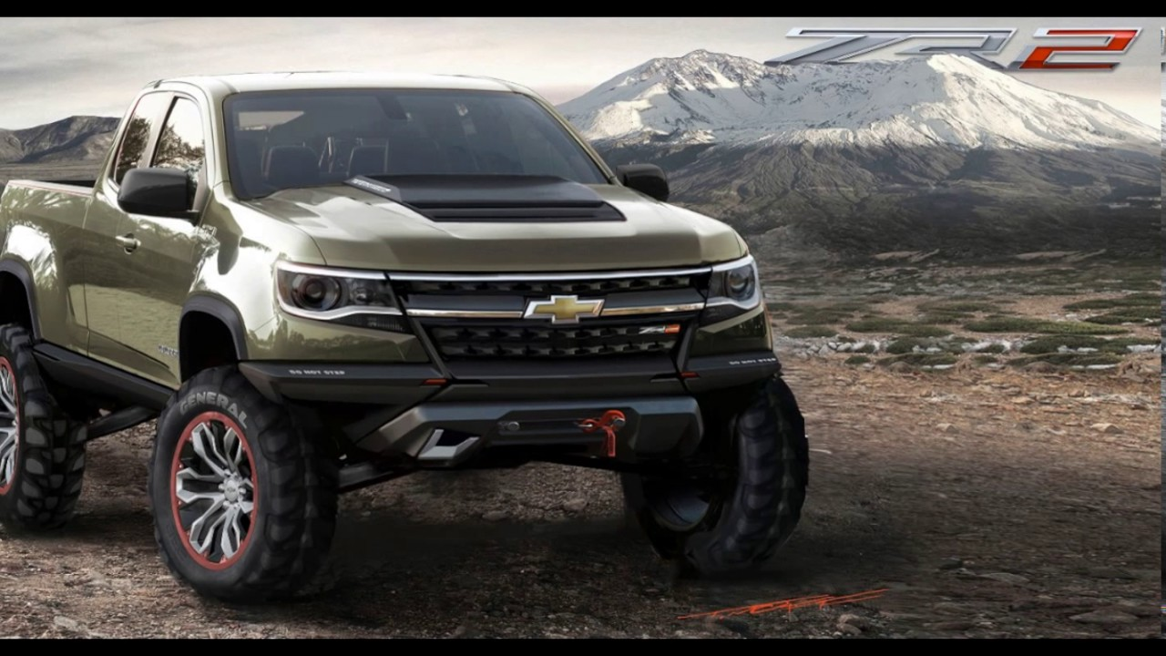 Colorado Zr2 Release Date >> New 2018 The Chevy Colorado Zr2 Release Date And Review Concept