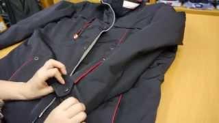 Мужская куртка темно-синего цвета(Описание, размеры и цены смотрите на сайте в карточке товара: http://www.vidmens.ru/collection/verhnyaya-odezhda/product/kurtka-demisezonnaya..., 2015-10-30T17:39:52.000Z)