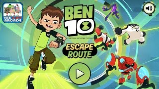 Ben 10: Escape Route - Draw Your Path To The Exit (Cartoon Network Games)