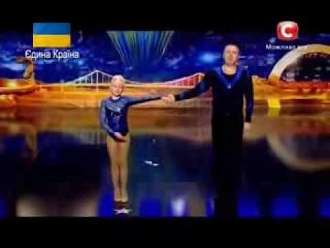 Украна ма талант 6 Сергей и Марина Баля Днепропетровск 08.03.2014