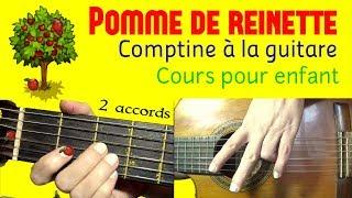1- (Comptine 2 accords- D-A7) Pomme de reinette