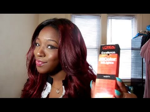 Loreal Hicolor High Lights Magenta Review Amp Demo Youtube