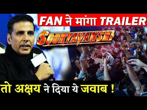 Akshay Kumar Answers A Fan Question When Will Sooryavanshi Teaser Will Release?
