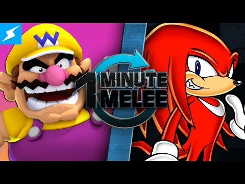 One Minute Melee - Wario Vs Knuckles (Mario Franchise vs Sonic Franchise)