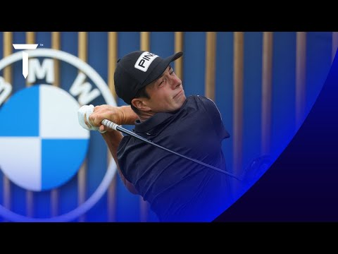 Victor Hovland on course for history after 64   2021 BMW International Open