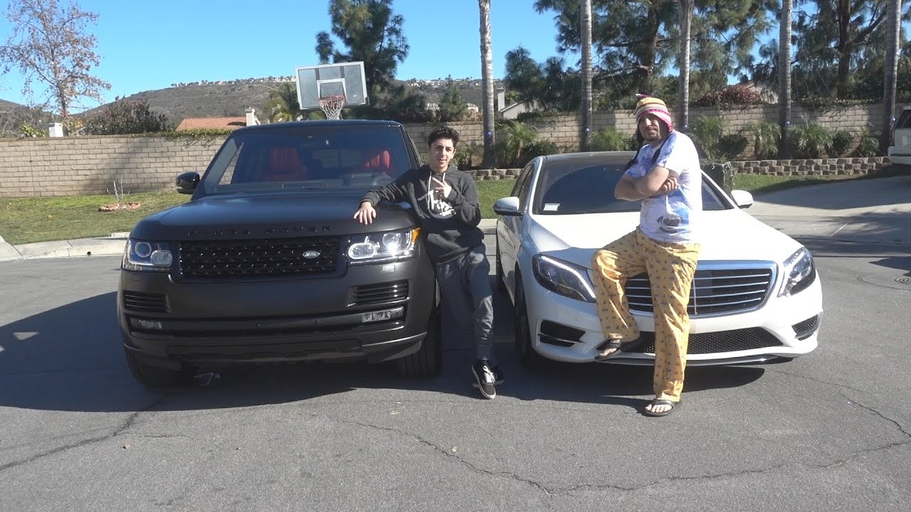 New Range Rover Vs Mercedes Race Son Father Faze Rug You