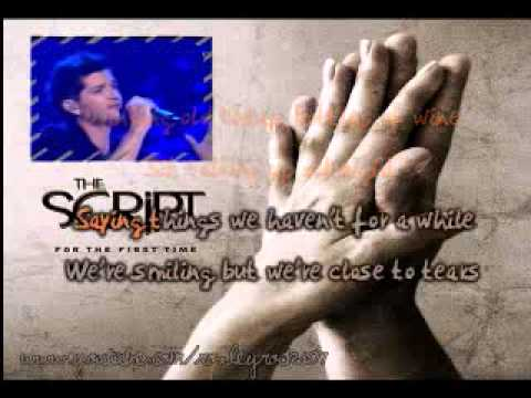 For The First Time (The Script) Karaoke
