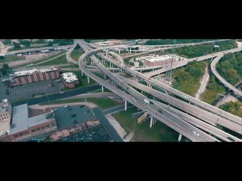 Drone view of Shreveport Louisiana 1080p phantom 4 and phantom 3