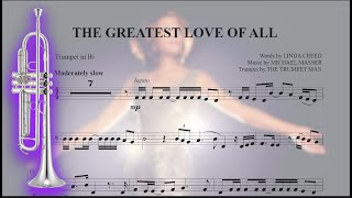The Greatest Love of All - Bb Trumpet Sheet Music