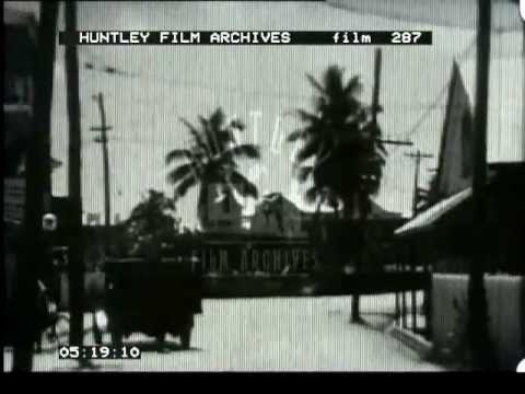 Amateur home movie of British Honduras and Belize, Central/North America, 1930's - Film 287