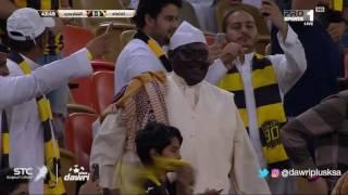 هدف الاتحاد الأول ضد أتلتيكو مدريد (محمود كهربا) في احتفالية العميد بعامه الـ90