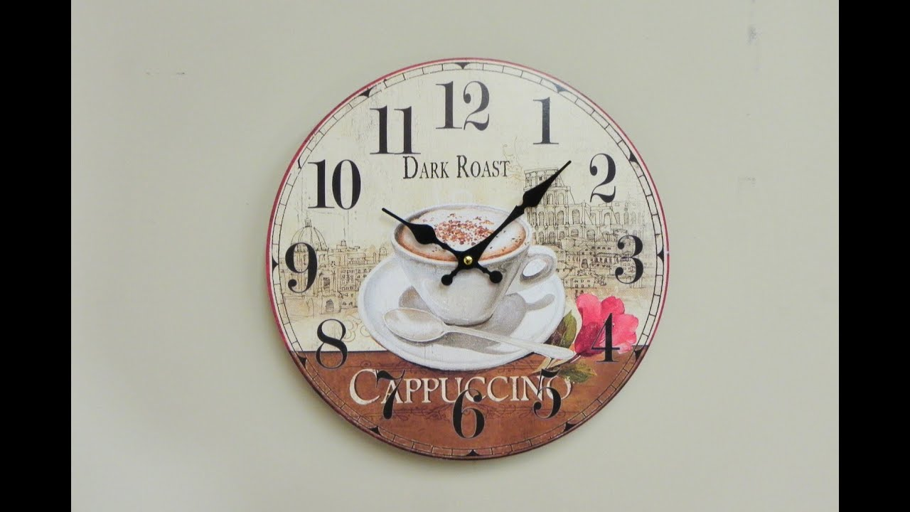 Descatalogado reloj para colgar de pared sencillo y - Reloj de pared adhesivo ...
