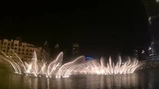 The Dubai fountain show (full)