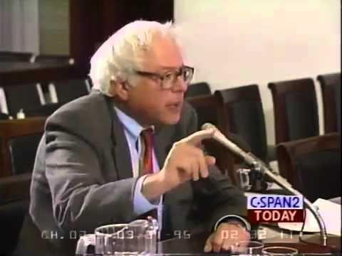 Bernie Sanders vs. John Kasich on Corporate Welfare 03-30-1995