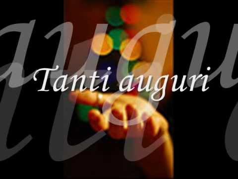 Happy Birthday tanti auguri