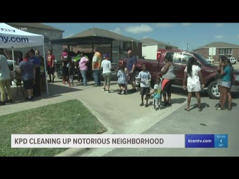Killeen Police Clean Up Notorious Neighborhood