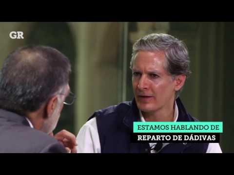 10.04.2017 Entrevista al Lic Alfredo del Mazo por el Periódico Reforma